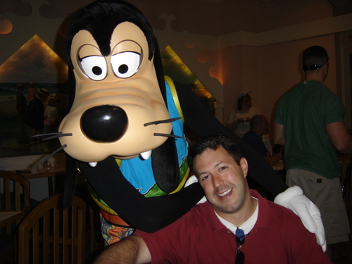Goofy and Mr. Audrey